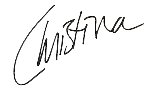Christina Neuner signature
